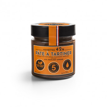 PATE A TARTINER NOISETTES 42 %